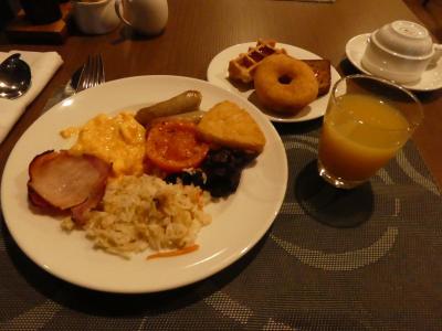 朝食の種類も豊富