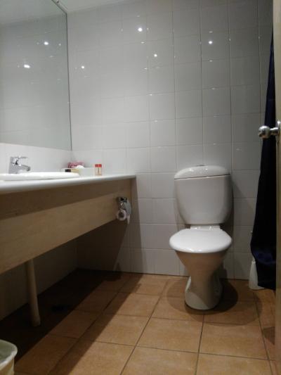 バスルームもゆったり。