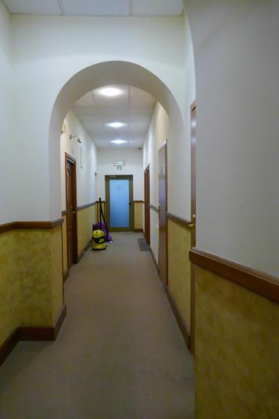 1階(=日本では2階)の廊下