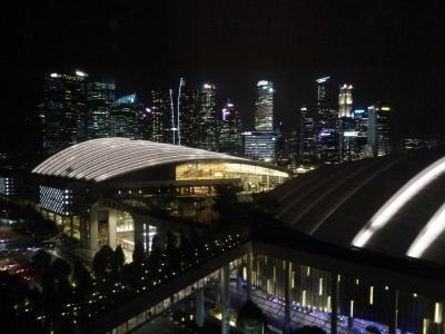 13階シティビューの眺望(南側の夜)