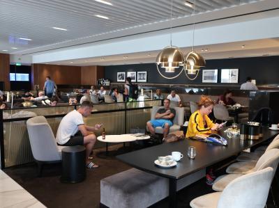 ✈アテネ国際空港 ホールA Goldair Handling Lounge