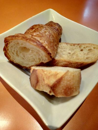 パンの素材が美味しい