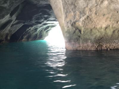 青の洞窟にも負けない  堂ヶ島 洞窟めぐり 遊覧船