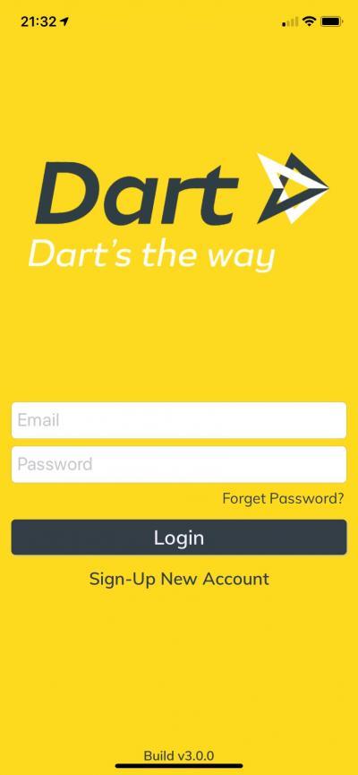 とても便利なブルネイの配車アプリ「Dart」の使い方