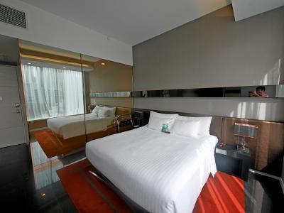 デザインホテルだが,一人で宿泊しても気持ちがいいホテル ミニバーなどすべて無料がうれしい