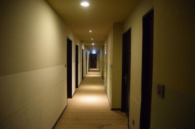 お掃除は行き届いていて清潔ですが、廊下は若干古さが目立ちます