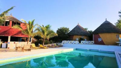 ルワラン セネガルのホテル