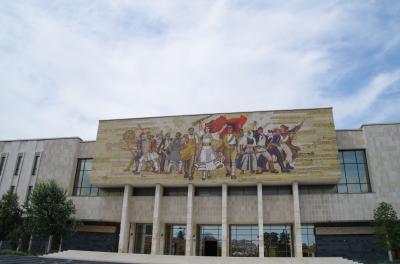 年代別の展示でアルベニアの歴史を知ることができます