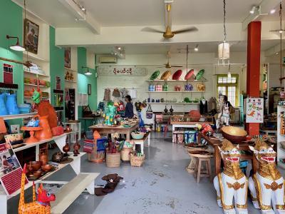 ヤンゴンでかわいいものを探そう