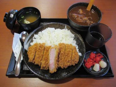 「キセキ食堂」の低温熟成肉のカツカレー