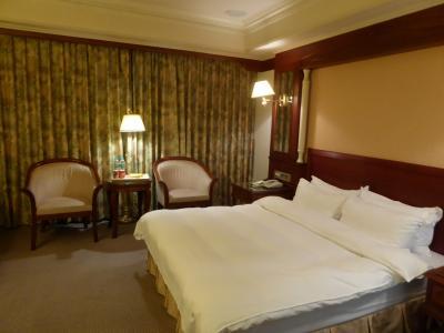 価格相応の古めかしいホテル