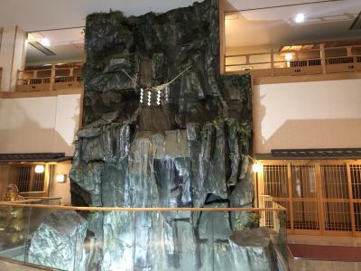 歴史感じる十和田湖近くの広い旅館。