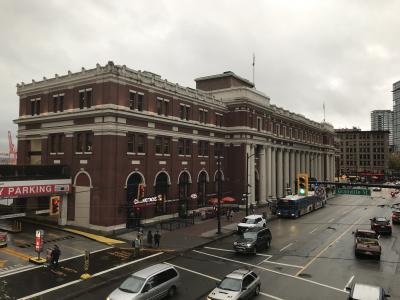 レトロな雰囲気のある駅舎