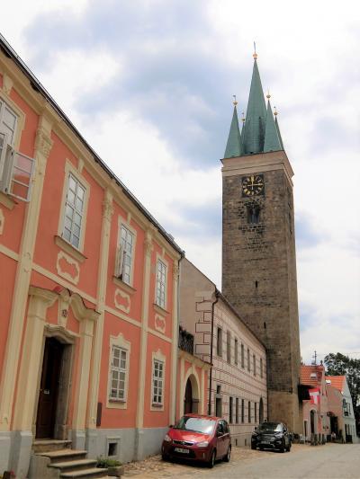 ザハリアーシュ広場南側の景色はこの塔の上で