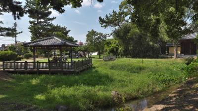 鶴林寺の外周