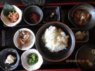 新潟の美味しい米が食べられる