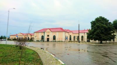 チェチェン共和国のグロズヌイ駅