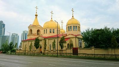 チェチェン共和国の大聖堂