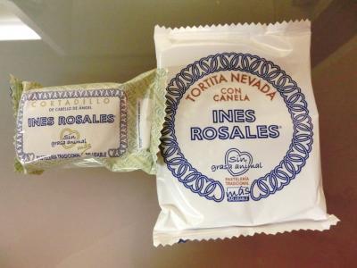 アンダルシアの焼き菓子は朝食会場からテイクアウト