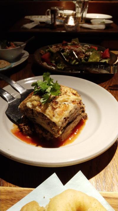 東京ではレアなギリシア料理