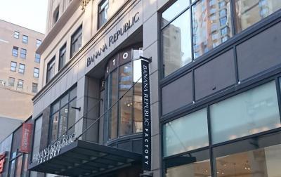 ミッドタウン34th Streetエリアはファストファッションストリート