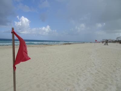 残念なビーチだった