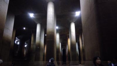 大きな地下神殿