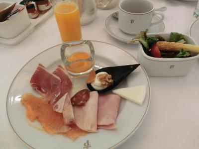 充実した内容の朝食ビュッフェに満足