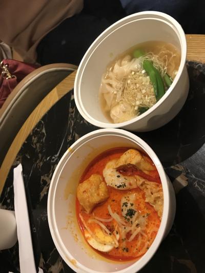 オーダー式の麺
