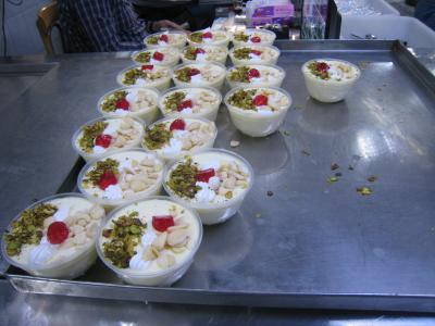 日帰りツアーで行ったダマスカスの有名アイスクリーム店