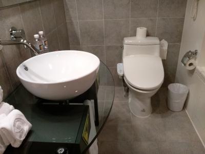 温水洗浄便座がついに導入されていました