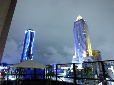 屋上からの夜景