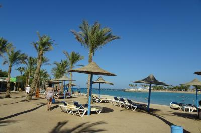 ビーチもアクアパークも両方楽しめるリゾートです。