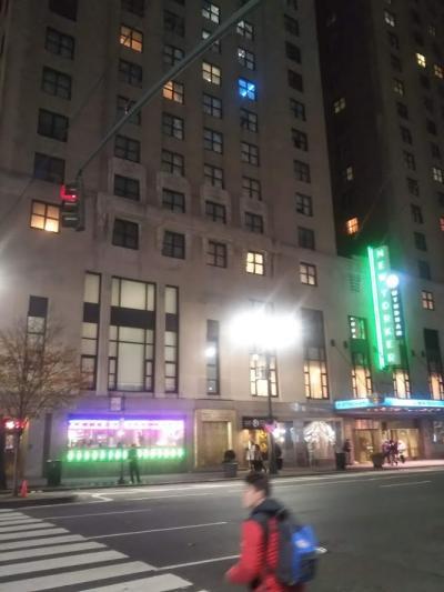 ヒストリカルな高層ホテルです。