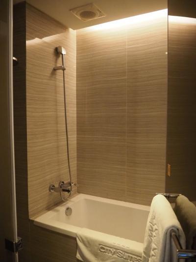 シャワーも使いやすい