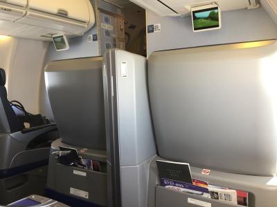 ANA国内線プレミアムクラス搭乗