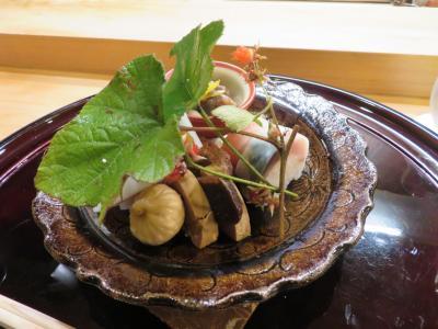 菊乃井で修行された楽しいシェフの割烹料理店