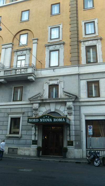 テルミニ駅に近く、しかも静かなホテル。