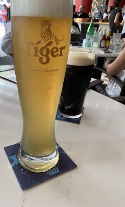 ビール美味しいです。