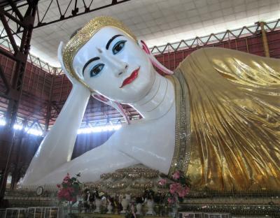 ヤンゴンで一番大きい寝釈迦仏