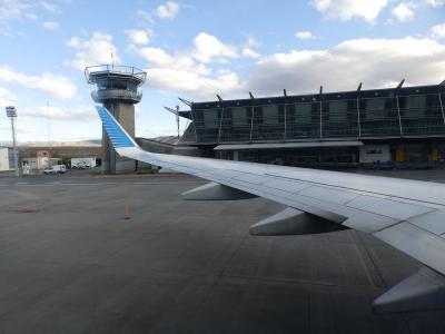空港の周りには何もありません。