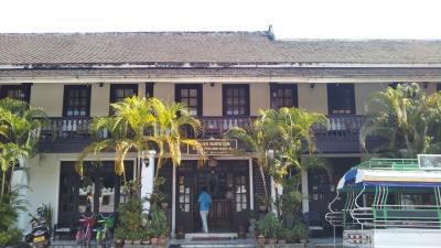 立地、コスパともにルアンパバーンでは最高レベルのゲストハウス。