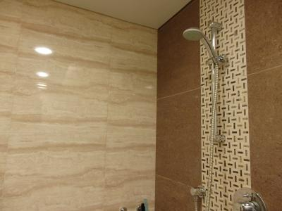 独立したシャワー室もありました。