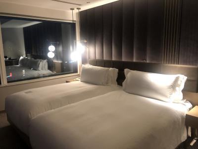 ホテルでのんびり