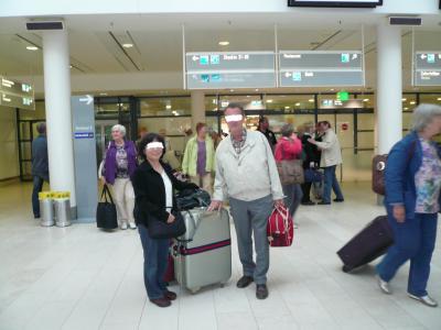 ブレーメン空港は4度目になるが、生涯初めてのバッゲージクレイムをした。