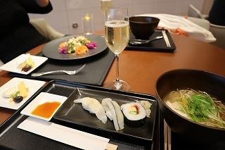 寿司を堪能しました
