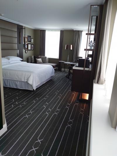 改装され、階層もあげてくれた、ハイドパークビューの部屋