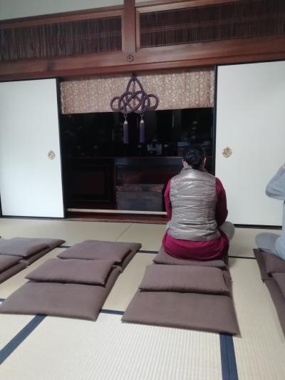 素晴らしい住職、座禅体験はおすすめ