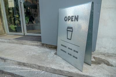 隠れたおしゃれカフェ