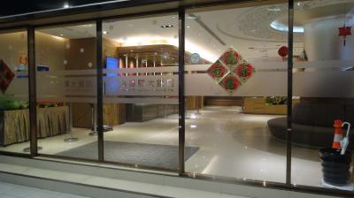 ホテル手前の胡椒餅の老舗店「福州世祖胡椒餅」を目印に